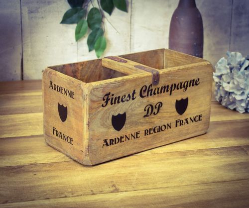 Medium Vintage Box Champagne